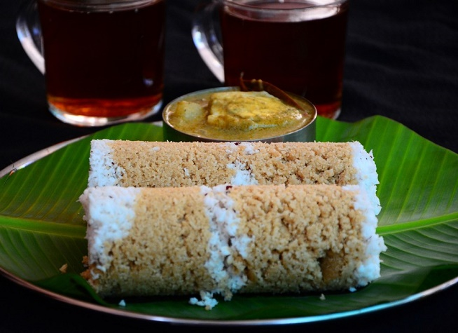 Gothambu puttu, whole whear puttu, breakfast recipe, kerala recipe, nadan recipe, kerala cooking