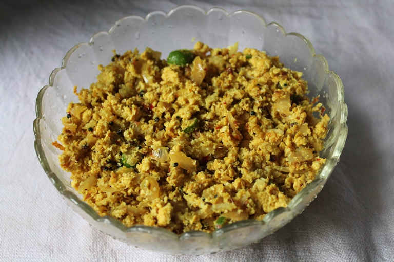 Mutta Thoran, scrambled egg with coconut, scrambled egg, dry egg recipe, easy egg recipe, kerala recipe