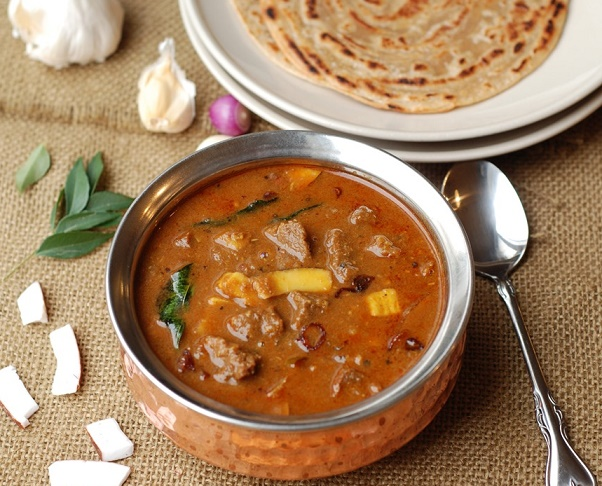 Nadan Beef Curry, Beef Curry Kerala Style, spicy beef curry, beef curry with thick gravy, easy beef curry