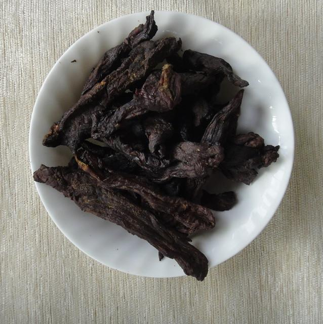 Unakka Erachi Olathiyathu, dried beef stir fry, how to cook unakka erachi