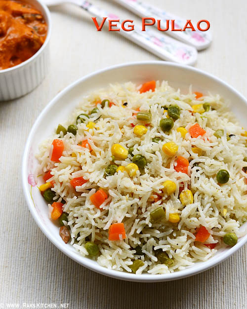 easy vegetable pulav recipe, vegetable pulv kerala style