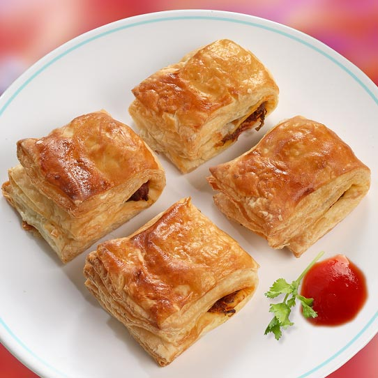 vegetable puffs recipe, veg puffs recipe, easy tea time snacks recipe