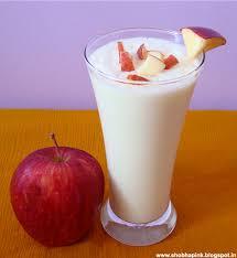 apple milk shake recipe, easy milk shake recipe