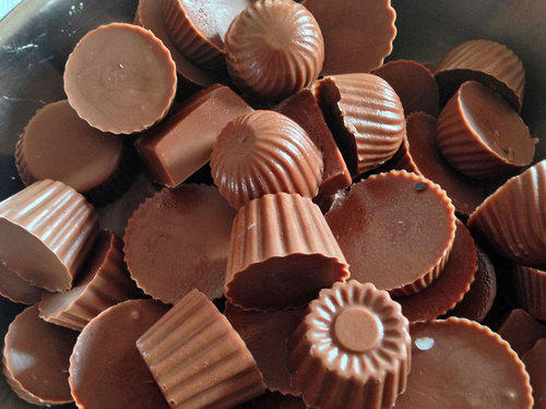 Homemade Chocolates Recipe, easy homemade chocolates, chocolate shells recipee
