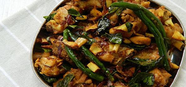 Chicken Olathiyathu kerala style, easy chicken fry, chicken ularthiyathu