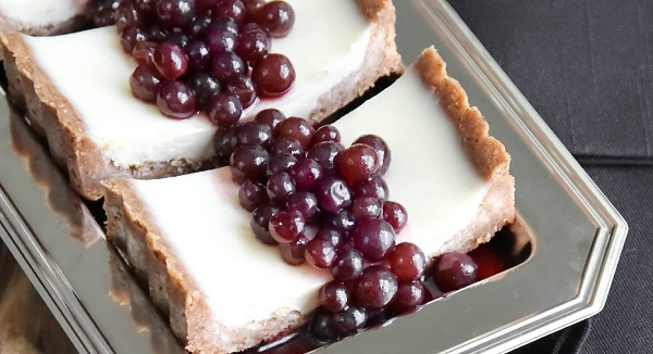 Green Grape Pannacotta recipe, easy dessert recipe, pannacotta recipe, easy and quick dessert recipe