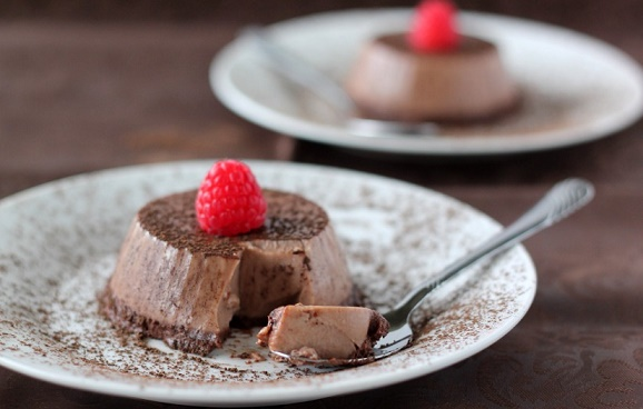 Chocolate Pannacotta