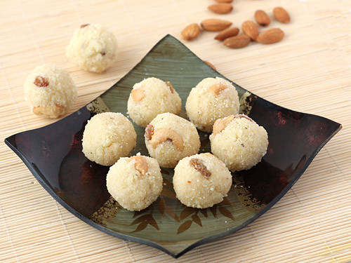 easy rava ladoo recipe, diwali sweets recipe, quick diwali sweets recipe