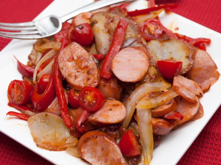 Sausage Stir Fry