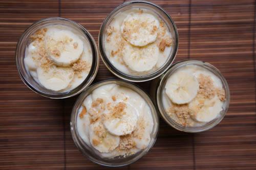 Easy dessert with Banana, easy dessert ideas